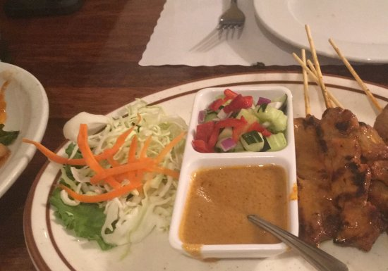 Lotus of Siam: Beef Satay