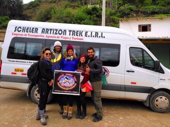Huaraz, Perú: Cashapampa, Inicio o final del Trek de Santa Cruz Llanganuco 04 días / 03 noches, Cordillera Bla