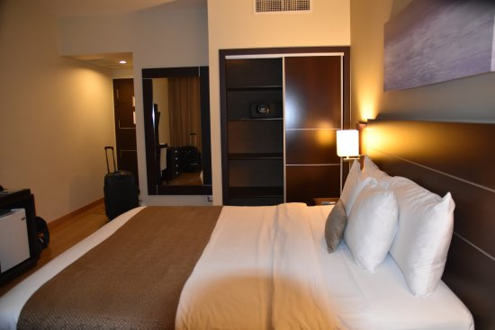 Tryp by Wyndham Panama Centro: angenehm geräumiges Zimmer