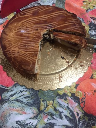 Afragola, Italien: La mitica e buonissima pizza dolce