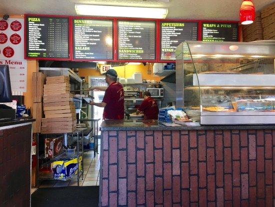 King's Pizza: Really good food
