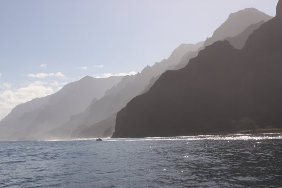 Waimea, HI: Napali Coast early morning