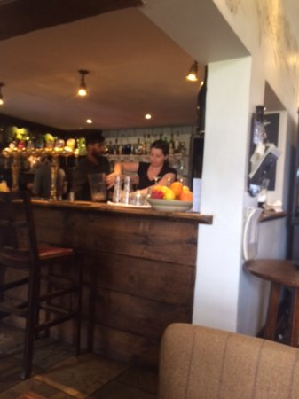 Wrotham Heath, UK: The diners bar