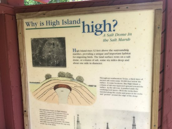 Why High Island is called High Island