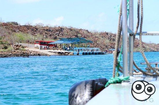 Canal de Itabaca: Cruzando el canal