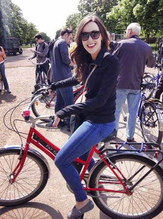 Fat Tire Bike Tours - London: Fun on the bikes in the park