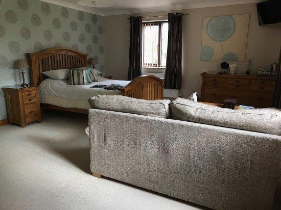 Tansley, UK: bedroom