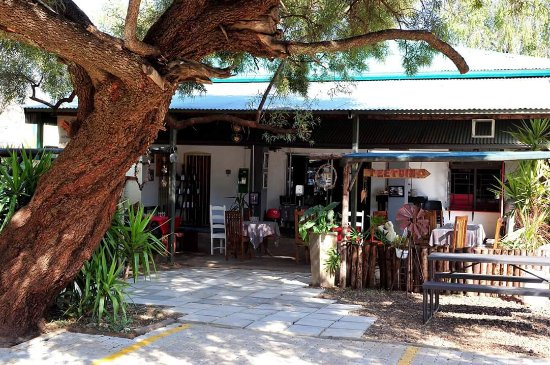 Zeerust, Afrique du Sud : I love the feel of this coffee shop.