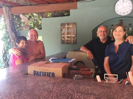 Hacienda de la Costa: The honor BAR.