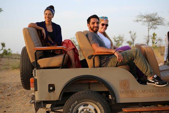 Dechu, India: Jeep & village safari