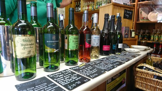 Wine tasting at Biddenden