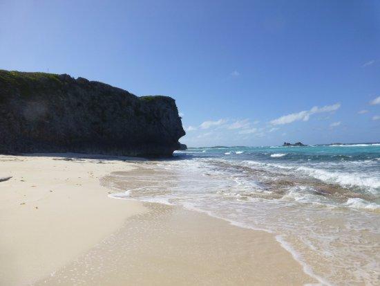 North Caicos : Mudjin beach