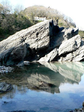 Parracombe, UK: Victorian Rock Pool on Woody Bay Beach