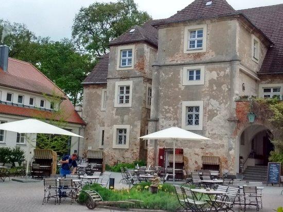 Mellenthin, Alemania: Blick in den Innenhof
