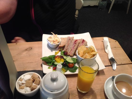 Bedale, UK: Sandwiches