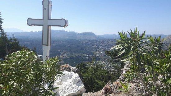 Kolimbia, Grecia: Monastery Tsambika