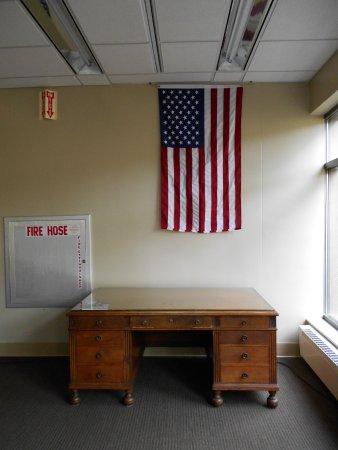 Eddie Rickenbacker's desk, Auburn University Special Collections