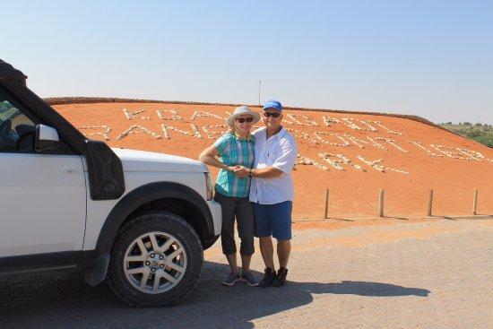 Upington, Sudáfrica: Taken at Twee Rivieren camp
