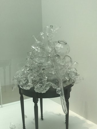 Corning, NY: Amazing glass and porcelain sculptures