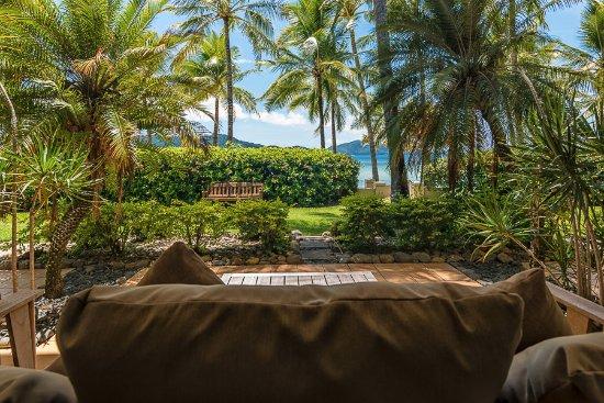 Beach Club: Terrasse des Zimmers