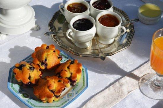 Selles-sur-Cher, Frankrijk: Petit déjeuner