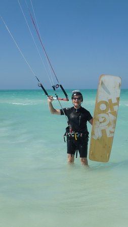 Holbox Kiteboarding School by Casa Las Tortugas : Ready to get started on my last day