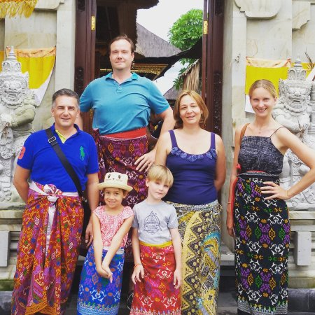 Kerobokan, Endonezya: Do trip costumer from germany and french, thank for joining with amazing place with us