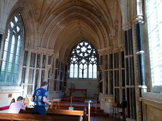 Kylemore, Ireland: Inside the Gothic Church