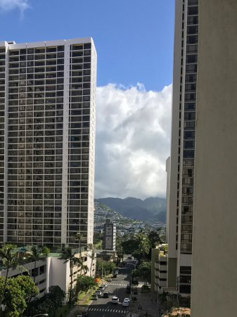 Hyatt Place Waikiki Beach: View from our room