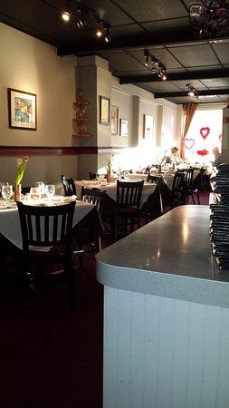 Jamesburg, Nueva Jersey: Dining room