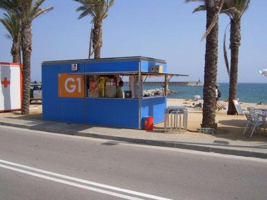Chiringuito Playa de Mataró