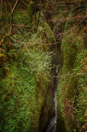 Black Rock Gorge (the devils mark)