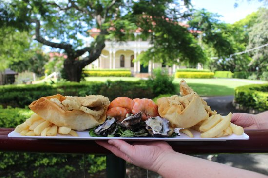 Marburg, Australia: Seafood platter