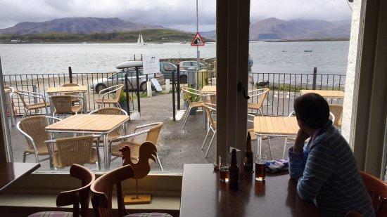 Port Appin, UK: Lismore and Morvern, from the bar...