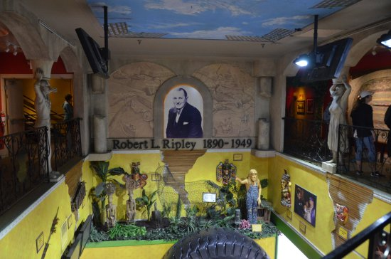 Ripley's Believe It or Not!: Main area with a tribute to Robert L. Ripley