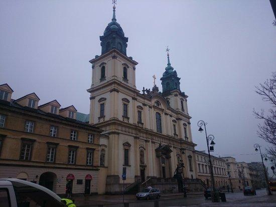 Iglesia de Santa Cruz. Donde esta el corazón de Chopin. - Picture of ...