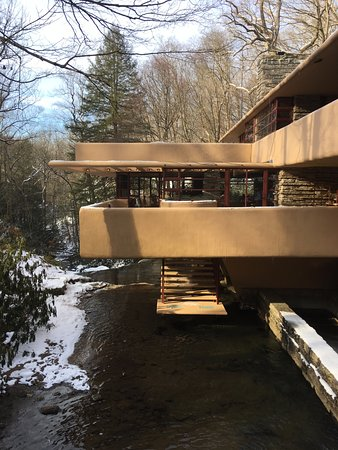 Fallingwater: View from the bridge