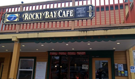Rocky Bay Cafe: great breakfast served all day