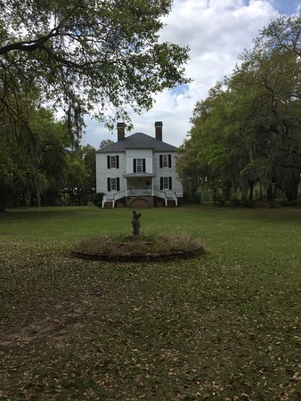 Georgetown, Karolina Południowa: Picture of front of plantation house.