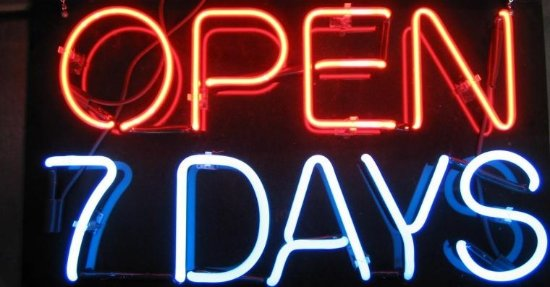 Truro, Canada: open 7 days including holidays . 12-3/5-10pm summer hours .