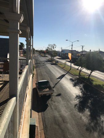 ‪‪Quilpie‬, أستراليا: Quilpie' Main Street from our verandah‬