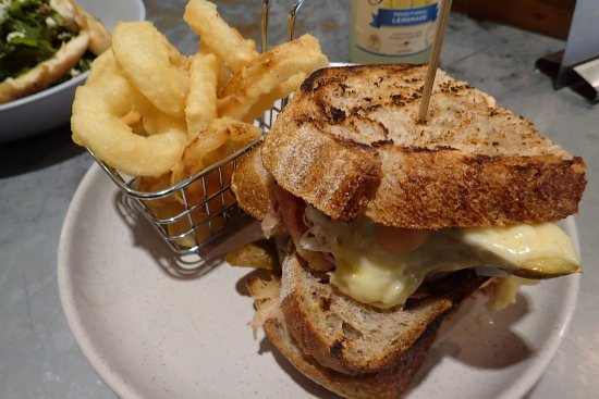 Hornsby, Australia: A true Reuben should have lots of corned beef and a pickle on the side.