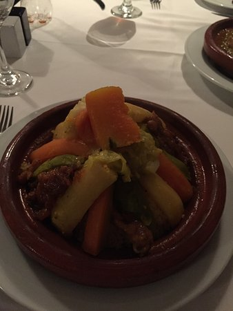 Le Nabab : Chicken Couscous.