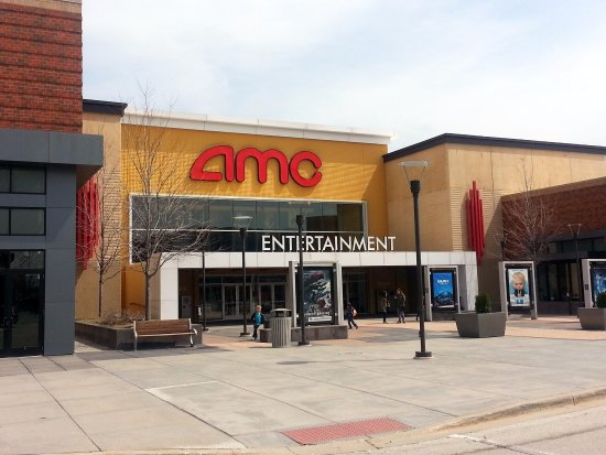 Mount Prospect, IL: front of & entrance to AMC Randhurst 12