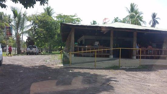 Паррита, Коста-Рика: View of the restaurant