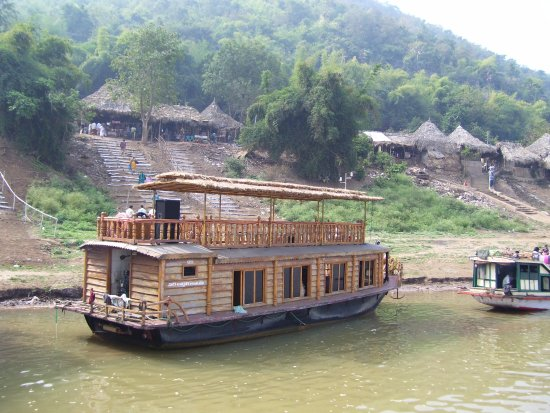 Sai Krishna Godavari Boat Travels - Day Tours: Small hut village