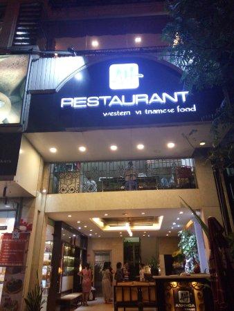 Anh Hoa restaurant: Anh Hoa outside view