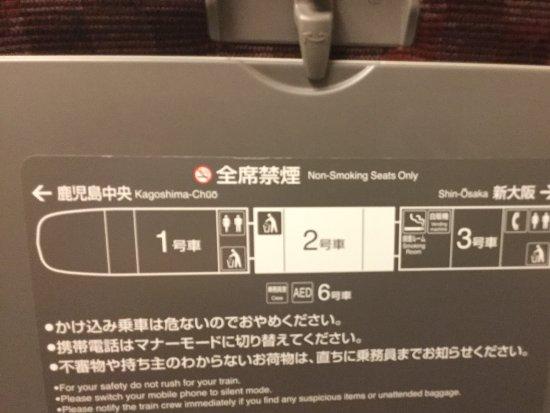 Kyushu-Okinawa, Japan: テーブルの裏