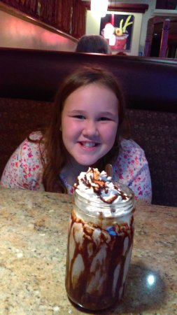Juicy's The Place with the Great Food: Chocolate shake for Two!