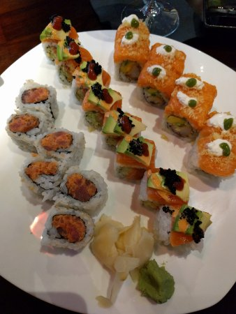 Bethany, OK: Spicy Tuna, Tiger Roll, and Eskimo Roll